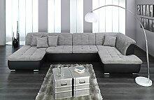 ARBD Wohnlandschaft Farus, Couchgarnitur XXL Sofa,