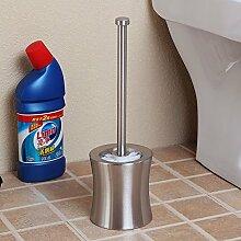 Arbeiten Sie Edelstahl-Toilettenbürstenhalter Bodenstehender Bad-Accessoires