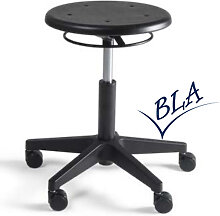 Arbeitshocker Chairsupply 323 schwarz