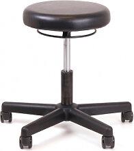 Arbeitshocker Chairsupply 327 Kunstleder schwarz