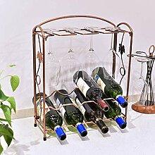 Arbeitsplatte aus Metall Weinregal, Tisch