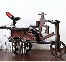 Arbeitsplatte Display Wein Halter Flaschenregal