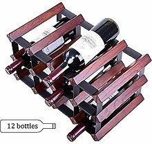 Arbeitsplatte Display Wein Halter Weinregal