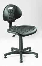 Arbeitsstuhl mit Gleitern | Schwarz Drehstuhl