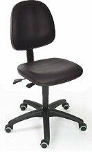 Arbeitsstuhl Modell 8530 - mit Rollen, Sitz