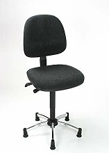 Arbeitsstuhl Polster mit großer Rückenlehne und