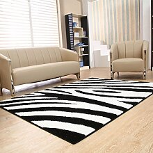 Arbeitszimmer, Wohnzimmer mit Schlafsofa Schlafzimmer Teppich Downy Stretch-Garn Teppich Minimalist Modern Home Teppiche verblassen nicht flusenfreie 140 * 200 * 2.5cm geometrische Muster
