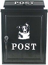 Arboria Wand montiert Gusseisen Mailbox