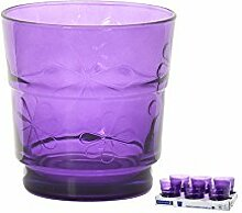 ARC Set Von 6 Beakers Funnyflowers Lila 25 Glas Weinglas Und Kelch