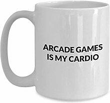 Arcade Games Mug - Arcade Games is my cardio -