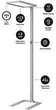 Arcchio Nelus LED-Stehlampe, dimmbar, BWM, Sensor