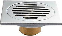Archaistic Silber Messing Quadratmeter Dusche