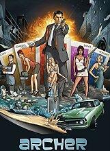 Archer Season 1 Poster auf