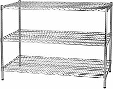Archimede Modular System DREI Etagen Regal, Metall