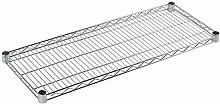 Archimede Modular System Regal, Metall verchromt,