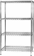 Archimede Modular System Vier Etagen Regal, Metall