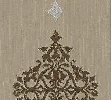 Architects Paper Textilpanel AP Wall Fashion Vliespanel Luxuspanel klassisch 3,20 m x 0,53 m creme metallic Made in Germany 306174 30617-4