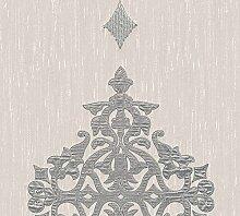 Architects Paper Textilpanel AP Wall Fashion Vliespanel Luxuspanel klassisch 3,20 m x 0,53 m creme metallic Made in Germany 306173 30617-3