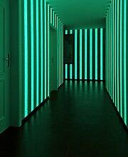 Architects Paper überstreichbare Vliestapete Pigment Colour Tec glow in the dark Tapete 10,05 m x 0,53 m weiß Made in Germany 961571 96157-1