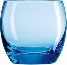 Arcoroc ARC C9688 Salto Ice Blue Whiskyglas,