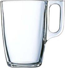 Arcoroc Becher Voluto, Glas, Bockbecher