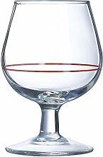 Arcoroc Cognac-Gläser aus Glas, 10 cl, 6 Stück