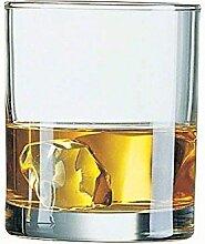 Arcoroc Princesa-Set aus Glas, niedrig, 32 cl, 6