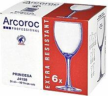 Arcoroc Princesa Wasserkelch 310ml, ohne