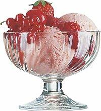 Arcoroc Sorbet Eisschale 380ml, 6 Stück, Glas,