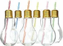 ARD 'time, ec-6amptgm, Bulb'S, Set: 6Gläser Cocktail-TGM Glas, transparent 20,5x 14x 14cm 400ml