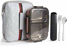 Arderlive Isolierte Bento-Lunchbox mit tragbaren
