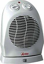 Ardes 453 Weiß 2000W Radiator/fan Elektrische Raumheizung - Elektrische Raumheizungen (Radiator/fan, 90°, Flur, Tisch, Weiß, 2000 W, 1000 W)