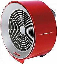 Ardes ar445Rund Rot–Heizlüfter Leistung