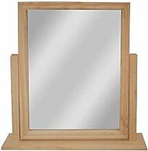 Ardisle Frisiertisch Spiegel Holz Klein für Den