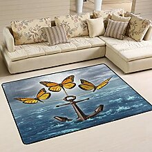 Area Rug Teppich Fußmatte 36x24 Zoll Ocean Sea