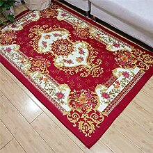 Area Rug Traditional Floral, dick, rutschfester