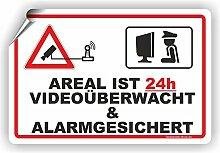 AREAL IST VIDEOÜBERWACHT UND ALARMGESCIHERT /