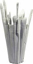 Areaware - Brush Vase, weiß