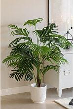 Areca Palme Künstliche Zierpflanze ↑120 cm Sklum