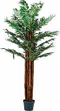 ® Arecapalme, Kunstpalme, Kunstpflanze, 180cm -