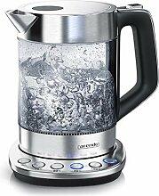 Arendo - Glas Wasserkocher mit