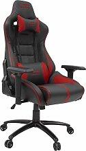 ARIAC Gaming Chair Premium, Schwarz-Ro
