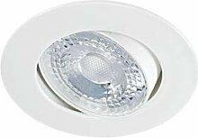 Aric 50534 Einbauleuchte, LED, 8 W, 3000 K, Weiß