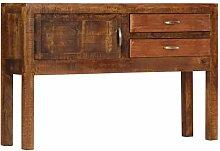 Arichtop Sideboard 118x30x75 cm Massivholz Mango