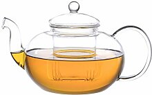 Aricola Glas-Teekanne Melina 1,8 Liter mit