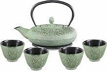 Aricola Gusseisen Teeset Katsu 0,6l mit elegantem