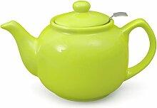 Aricola Teekanne Malika grün 1,2 Liter aus
