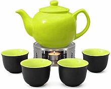Aricola Teeservice bestehend aus Teekanne Malika