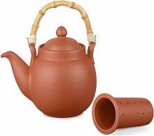 Aricola Ton Teekanne Tenno 1,1 Liter mit Tonsieb