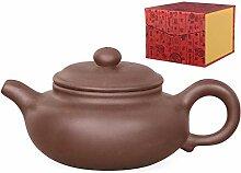 Aricola Yixing Ton Teekanne Nanjing Handgefertigt